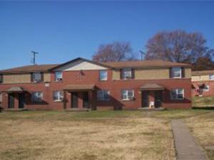 Hillside housing community