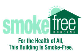 Smoke-free Housing. For the Health of All, This Building is Smoke-Free