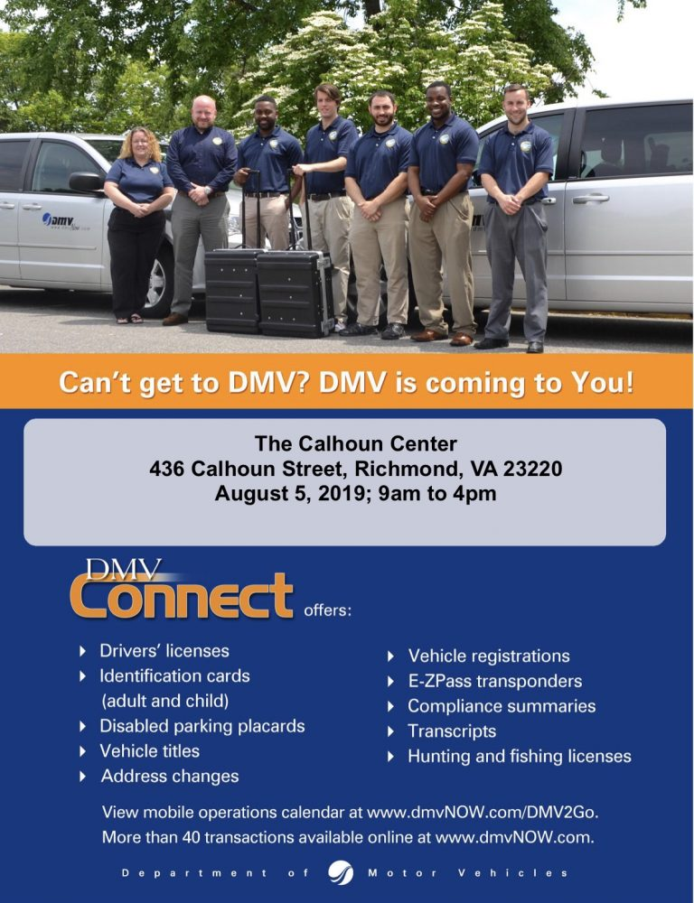 Can't get to DMV? DMV is coming to you.