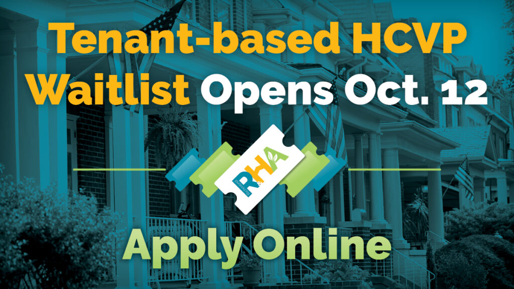 Tenant based HCVP Waitlist Opens October 12