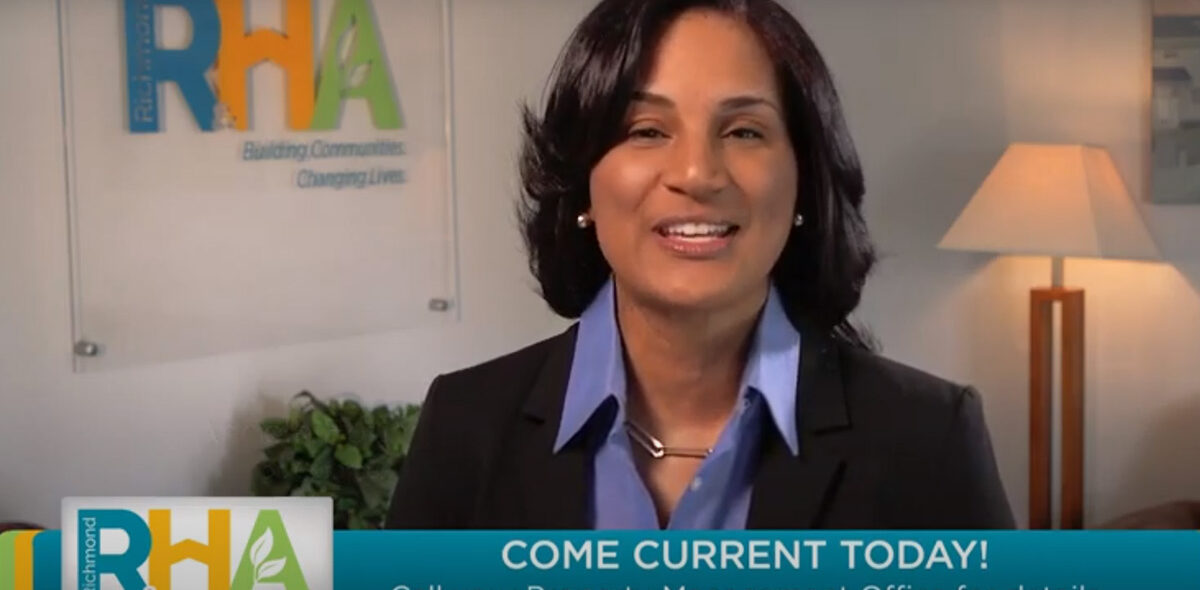 RRHA Come Current TV spot featuring RRHA Director of Communications and Public Relations Angela Fountain.