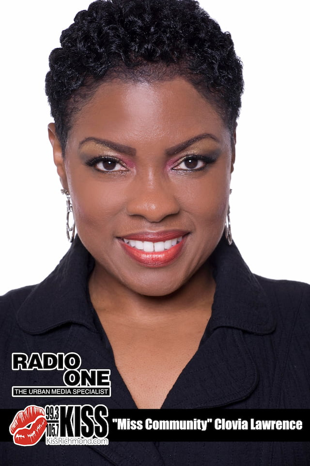 "Clovia Lawrence, ""Miss Community"" on Radio One"