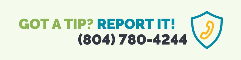 Public Safety Hotline  (804) 780-4244