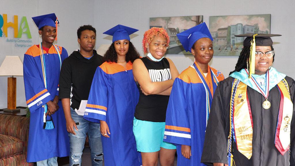2021 RRHA scholarship recipients